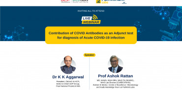 Contribution of COVID Antibodies as an Adjust test for diagnosis of Acute COVID-19 infection