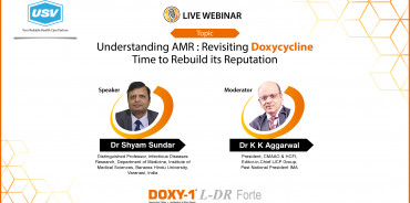 Understanding AMR : Revisiting doxycycline time to rebuild its reputation