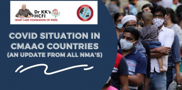 COVID situation in CMAAO countries (An update from all NMAs)