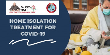 Home isolation treatment for COVID 19