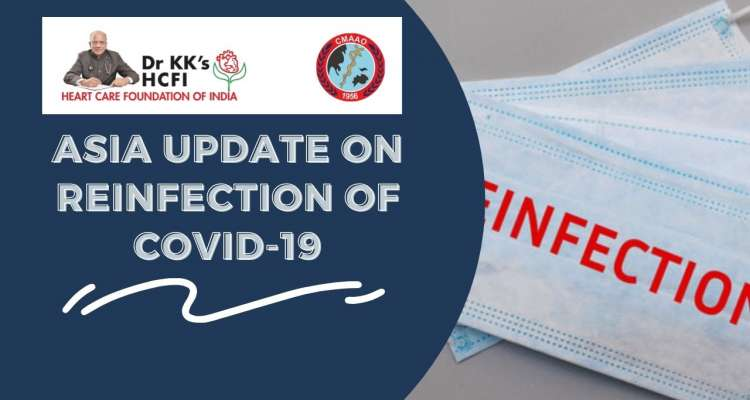 Asia Update on Reinfection of COVID 19