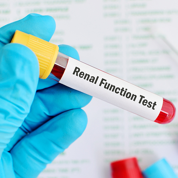 I have diabetes, how often should I get renal function test done?