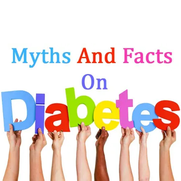 What are the myths about Diabetes?