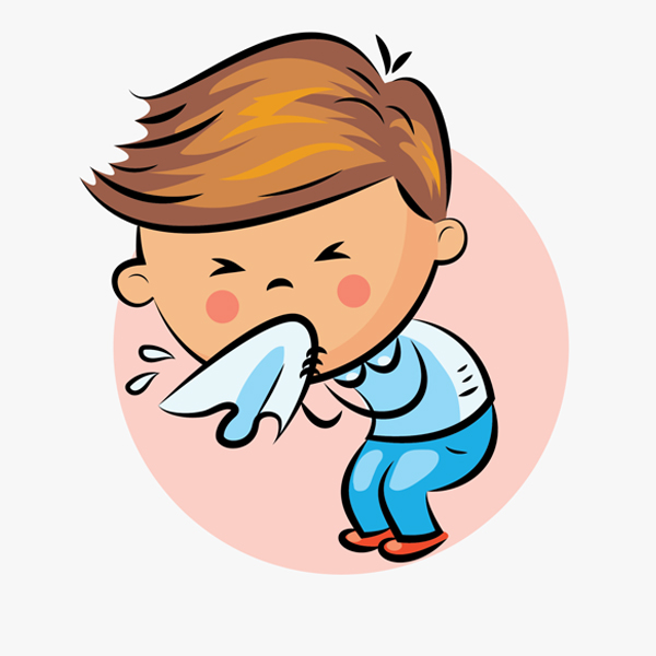 What can cause nasal allergies in children?