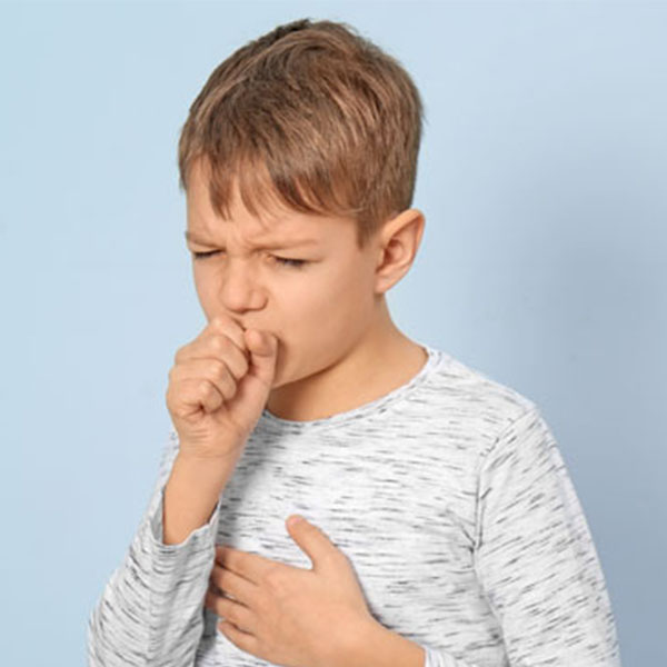 What causes a cough in children?