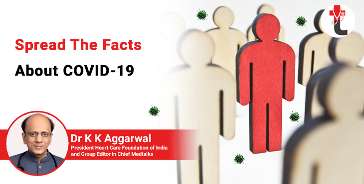 Spread the facts about COVID 19