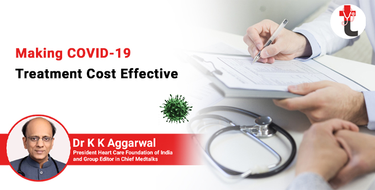 Making COVID 19 treatment cost effective