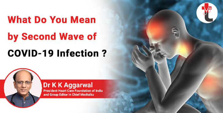 what do you mean by second wave of COVID 19 infection?