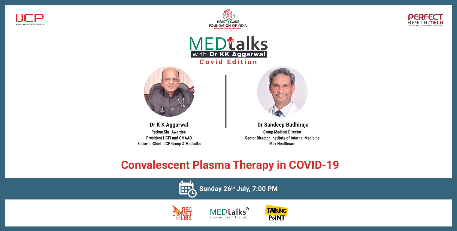 Convalescent Plasma Therapy in COVID-19