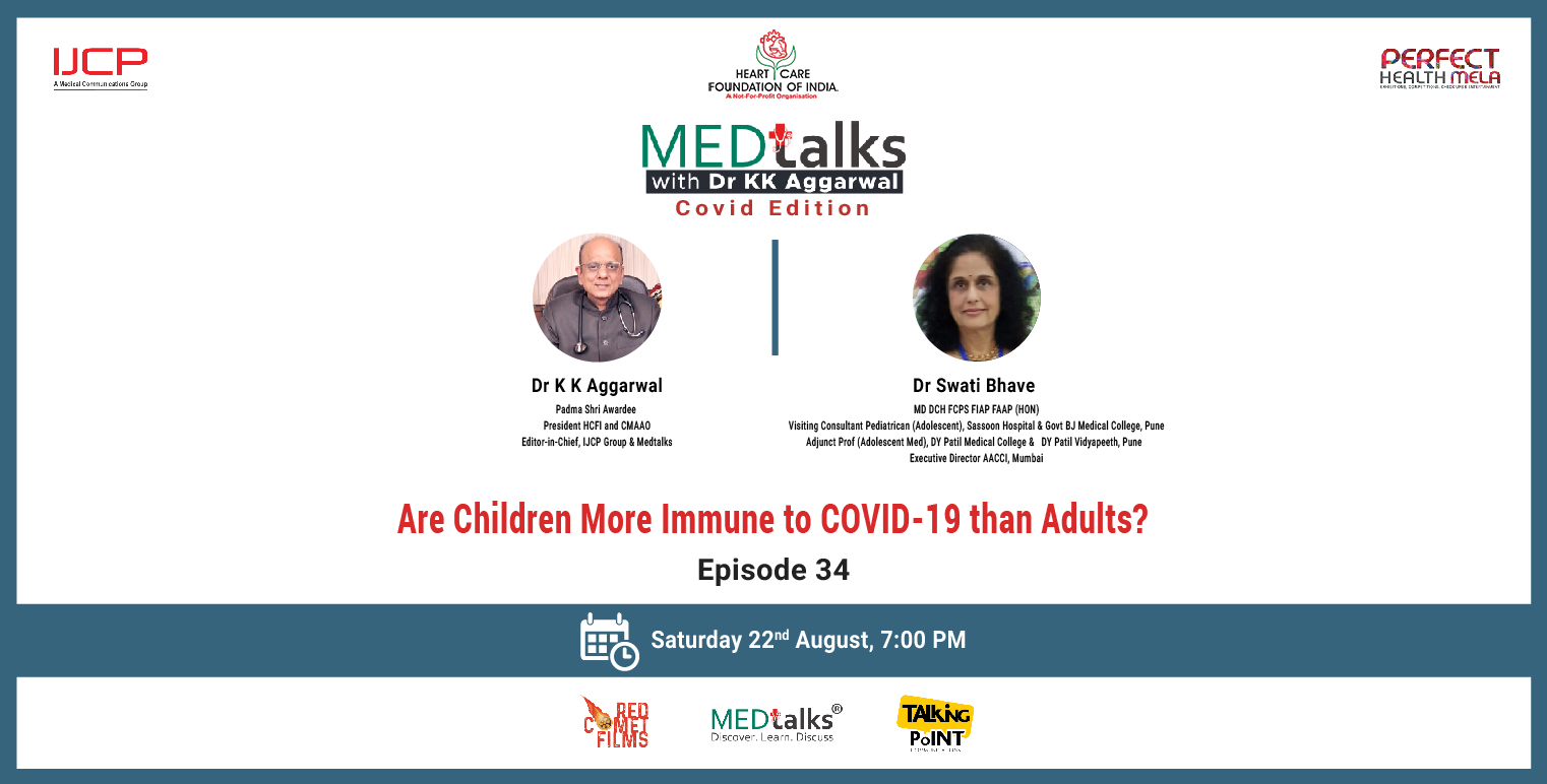 COVID-19 is less severe in children than in adult