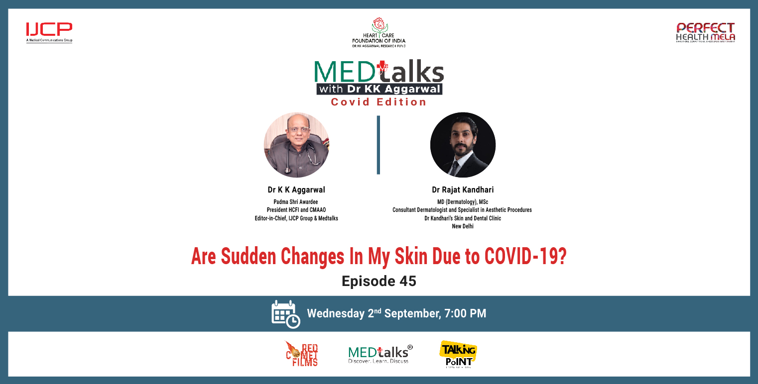 Are Sudden Changes in My Skin Due to COVID-19?