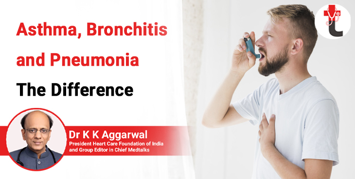 Asthma, Bronchitis and Pneumonia The difference