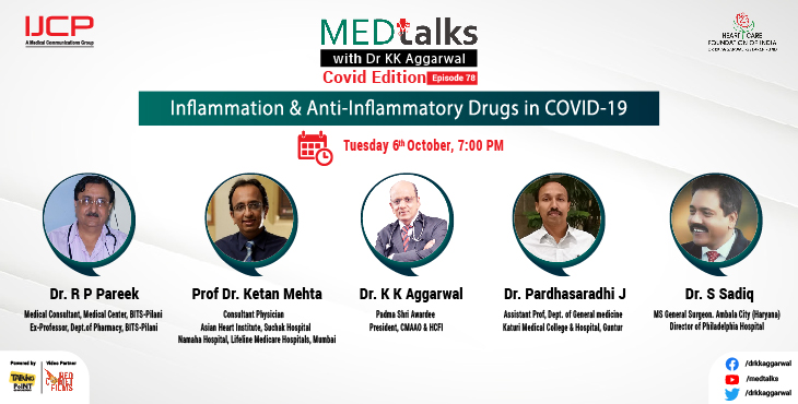 Inflammation & Anti-Inflammatory Drugs in COVID-19