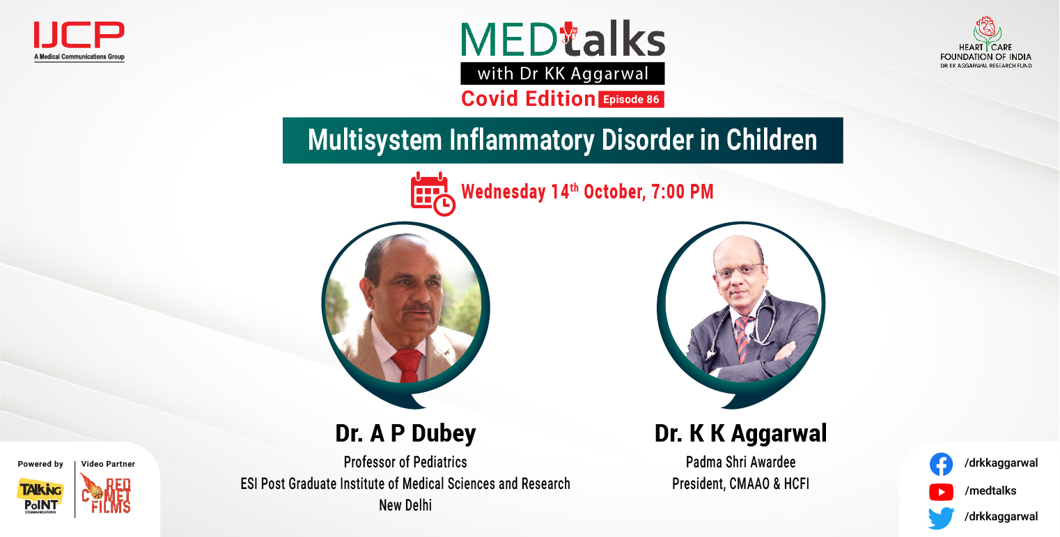 Multisystem Inflammatory Disorder in Children