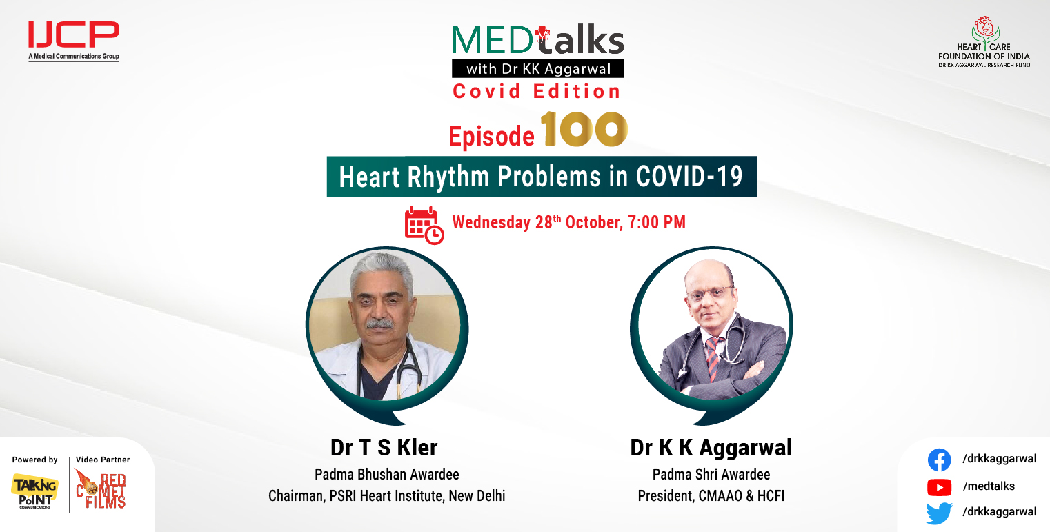 Heart Rhythm Problems in COVID 19