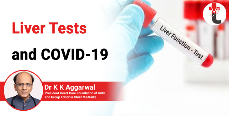 Liver tests and Covid 19