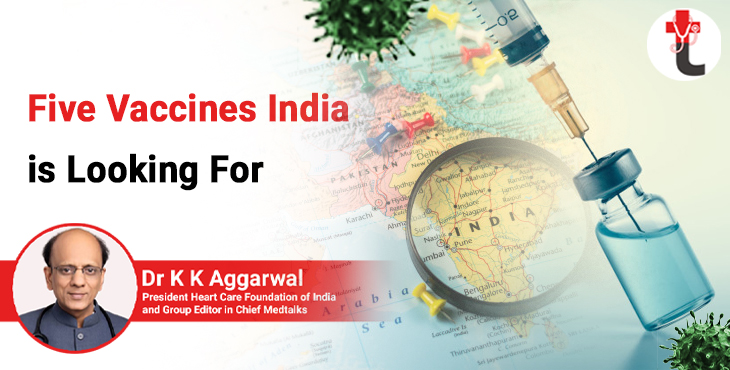 Five Vaccines India is Looking For