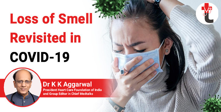 Loss of smell revisited in COVID 19