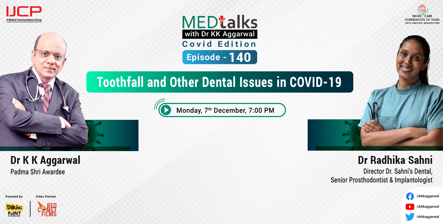 Toothfall and Other Dental Issues in COVID-19