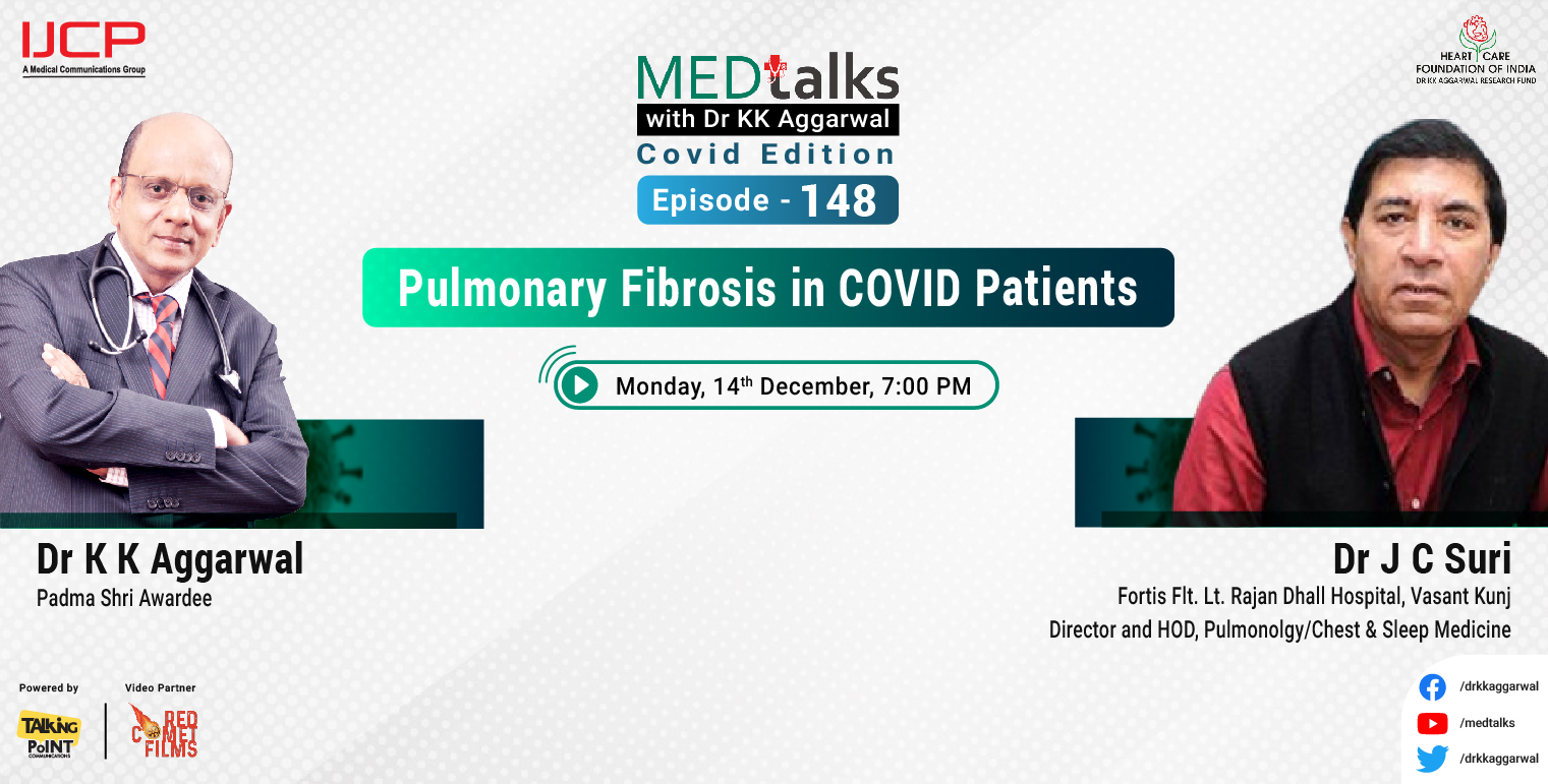 Pulmonary Fibrosis in COVID patients
