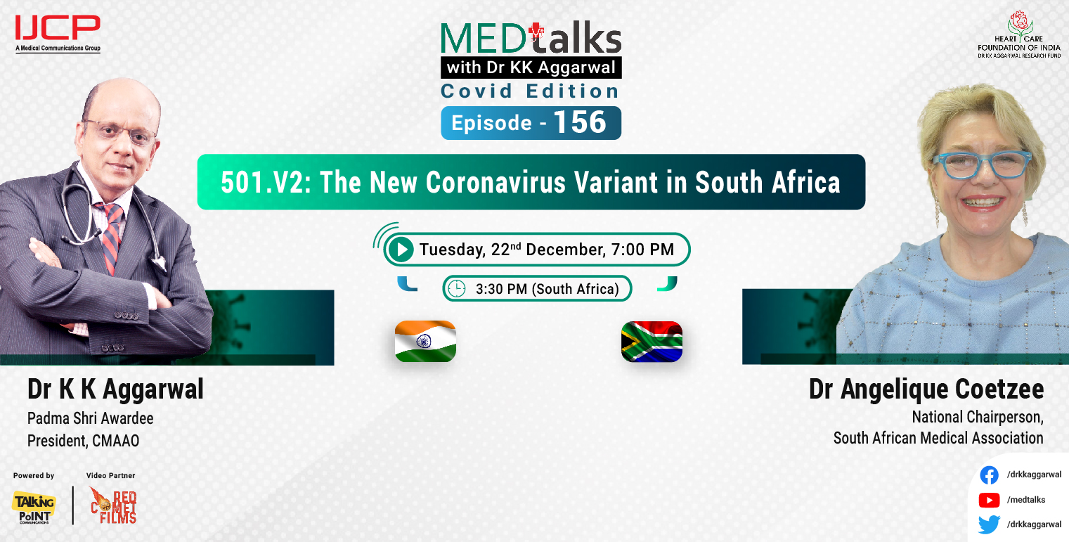501.V2: The New Coronavirus Variant in South Africa