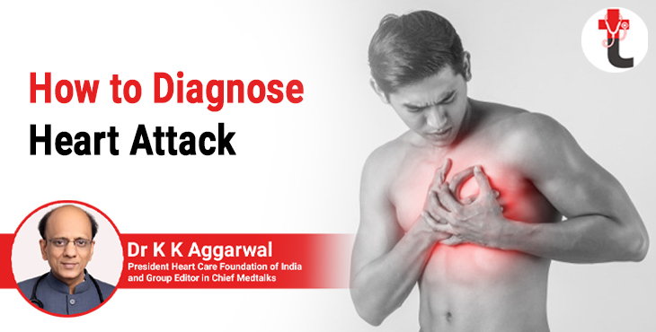 How to diagnose heart attack