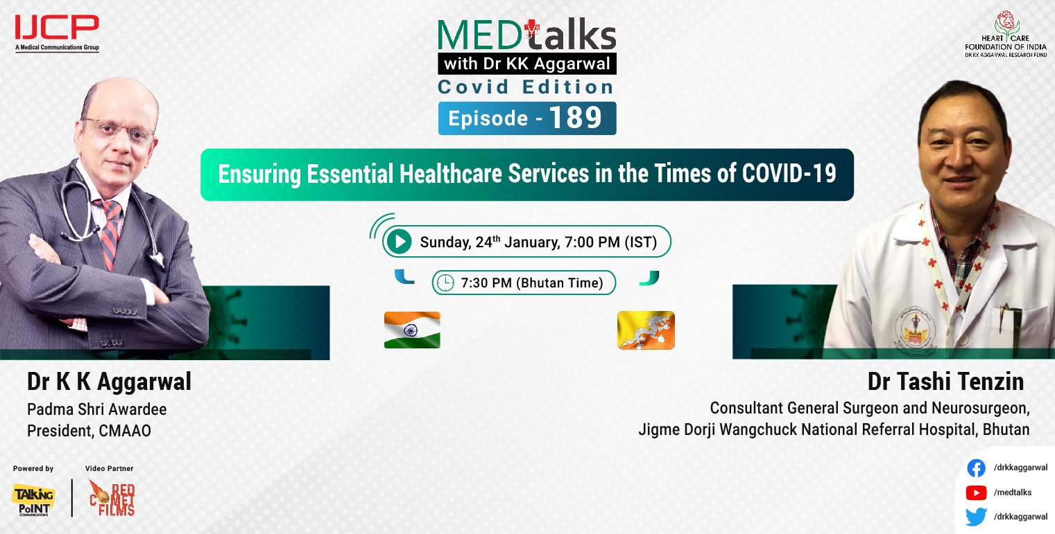 Ensuring Essential Healthcare Services in the Times of COVID-19
