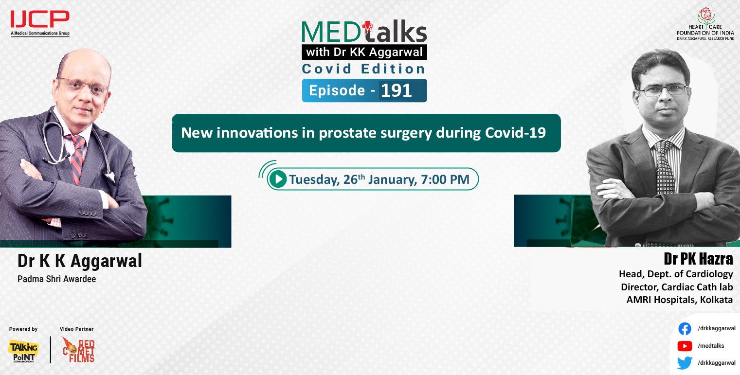 New innovations in prostate surgery during covid-19