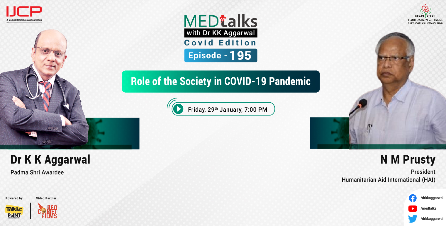 Role of the Society in Covid -19 Pandemic