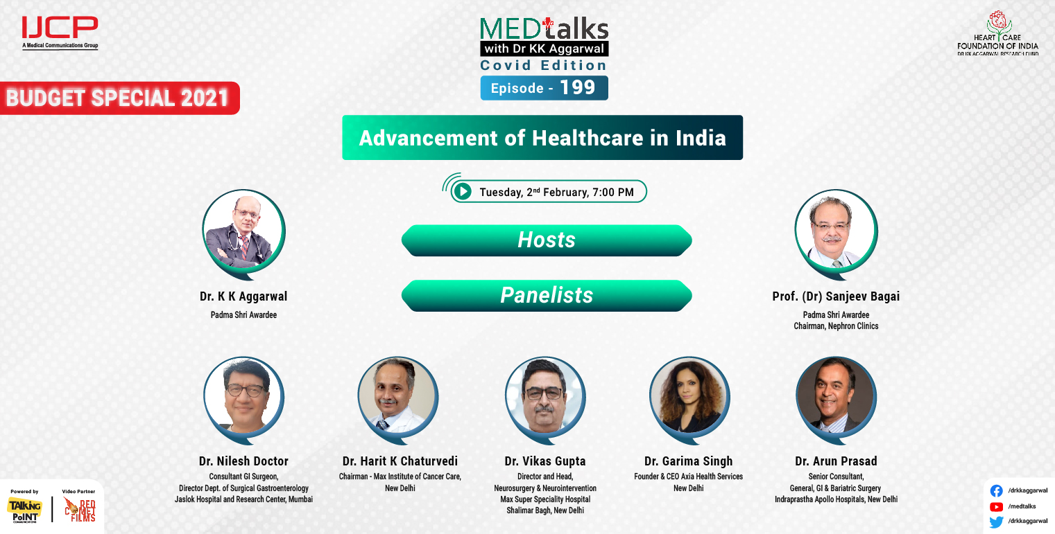 Advancement of Healthcare in India