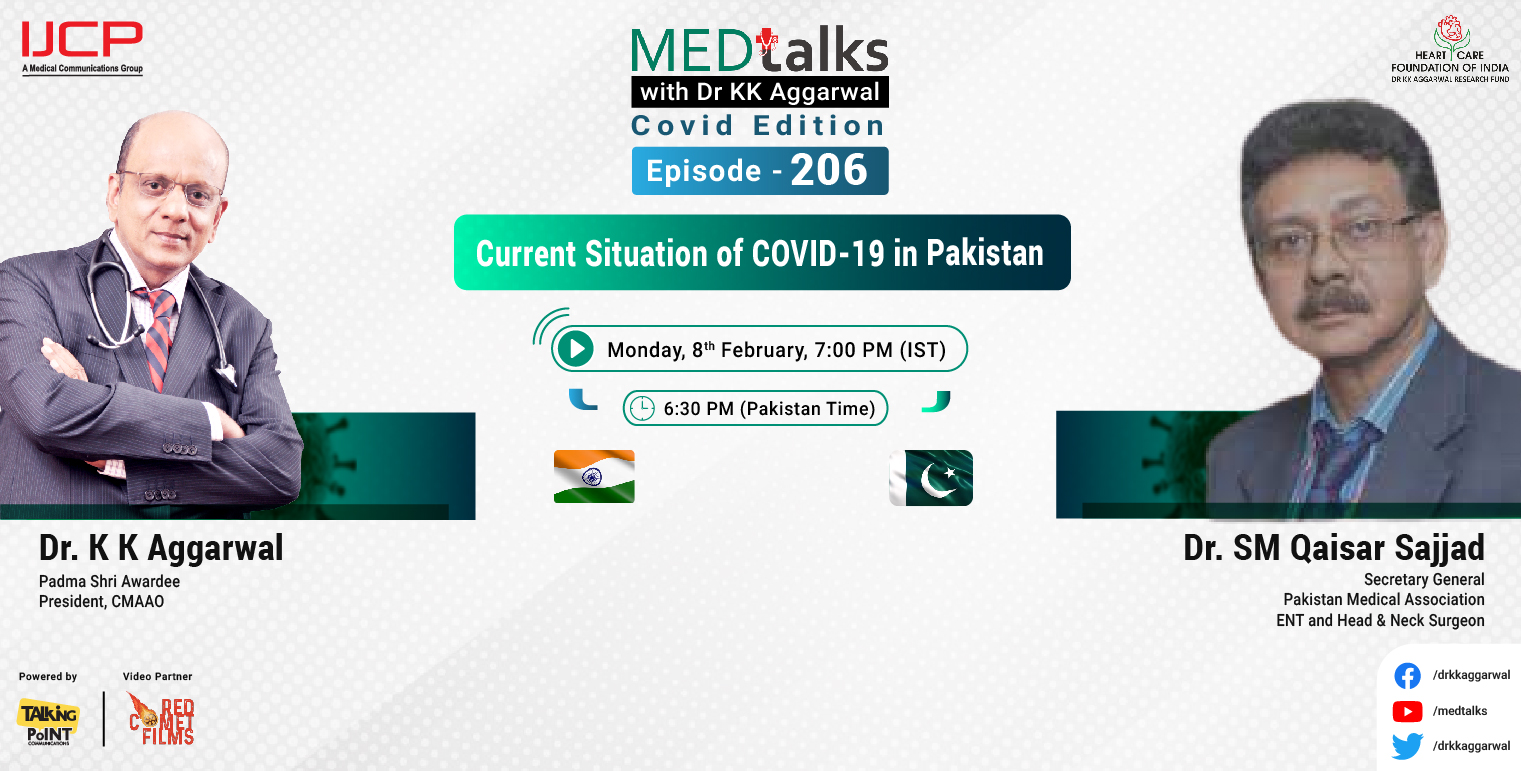 Current situation of COVID-19 in Pakistan