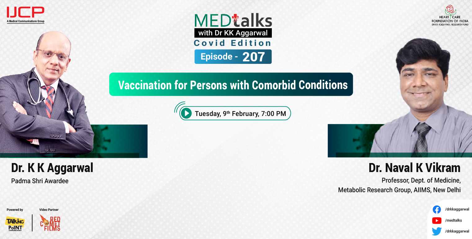 Vaccination For Persons With Comorbid Conditions