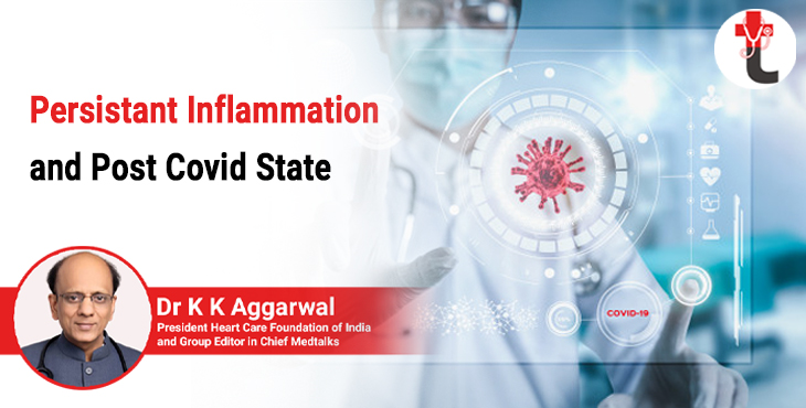 Persistent inflammation and post covid state