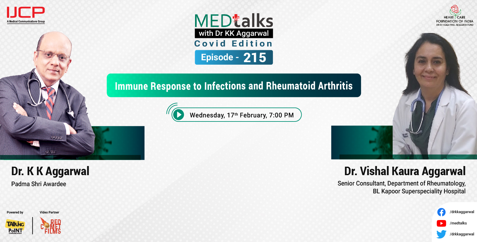 Immune Response to Infections and Rheumatoid Arthritis
