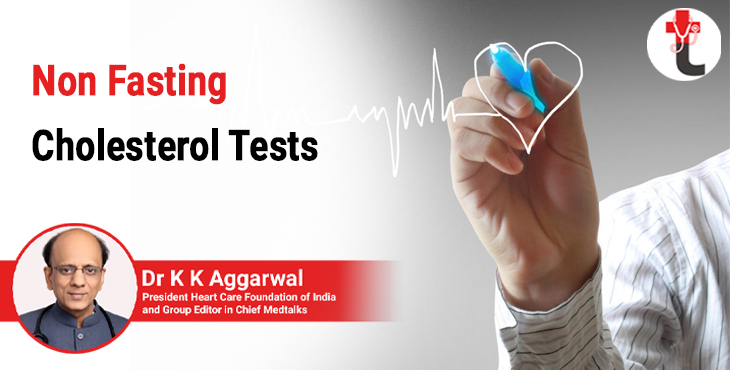 Non fasting cholesterol tests