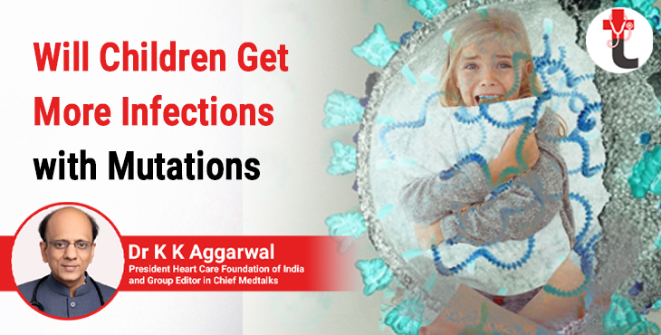 Will children get more infections with mutations